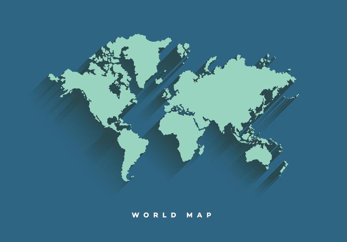 Weltkarte Vector