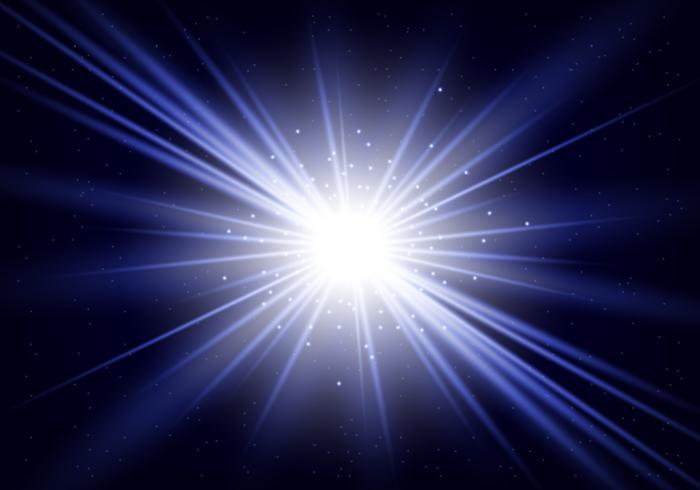 Blue Star Burst vektor