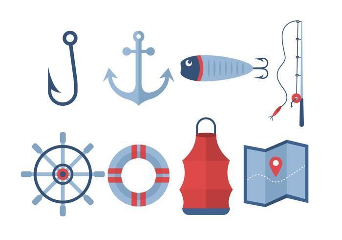 Free Fishing Vector Icons
