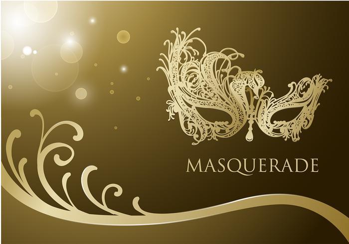Masquerade Ball Mask Gratis Vector