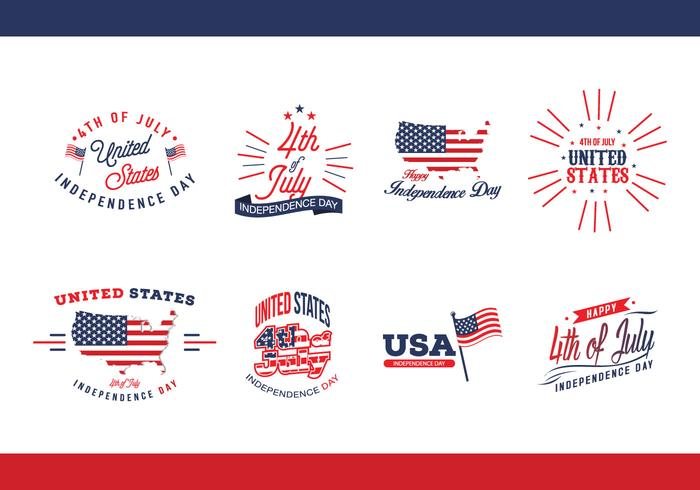 Independence Day USA Vector