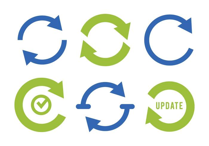 Update icon vector set