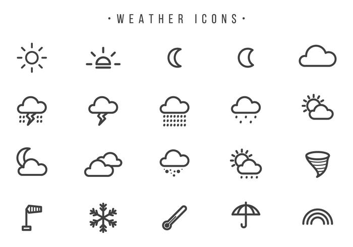 Free Weather Vectors