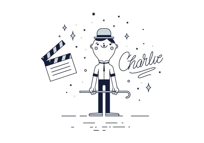 Kostenlos Charlie Chaplin Vektor
