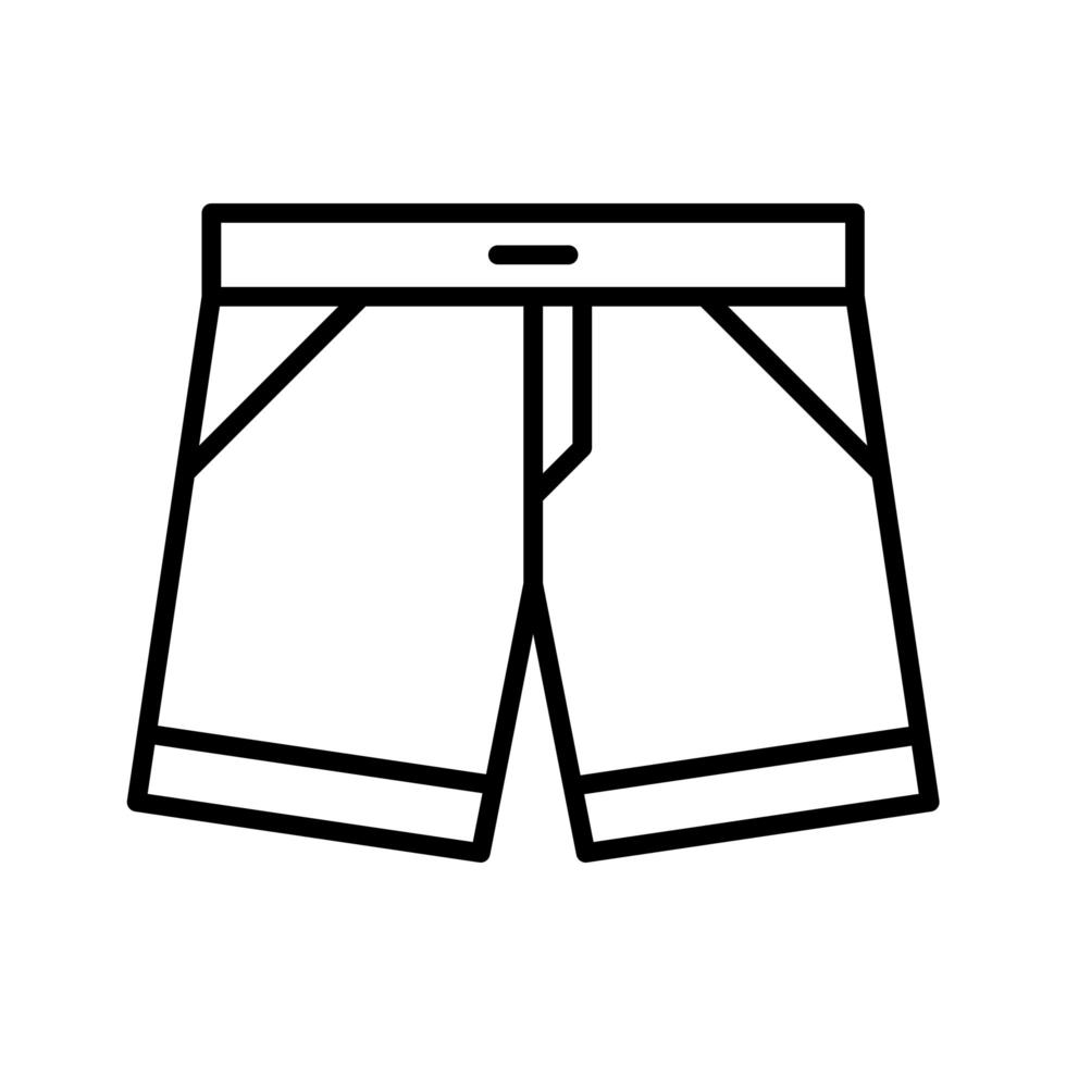 shorts vektor ikon