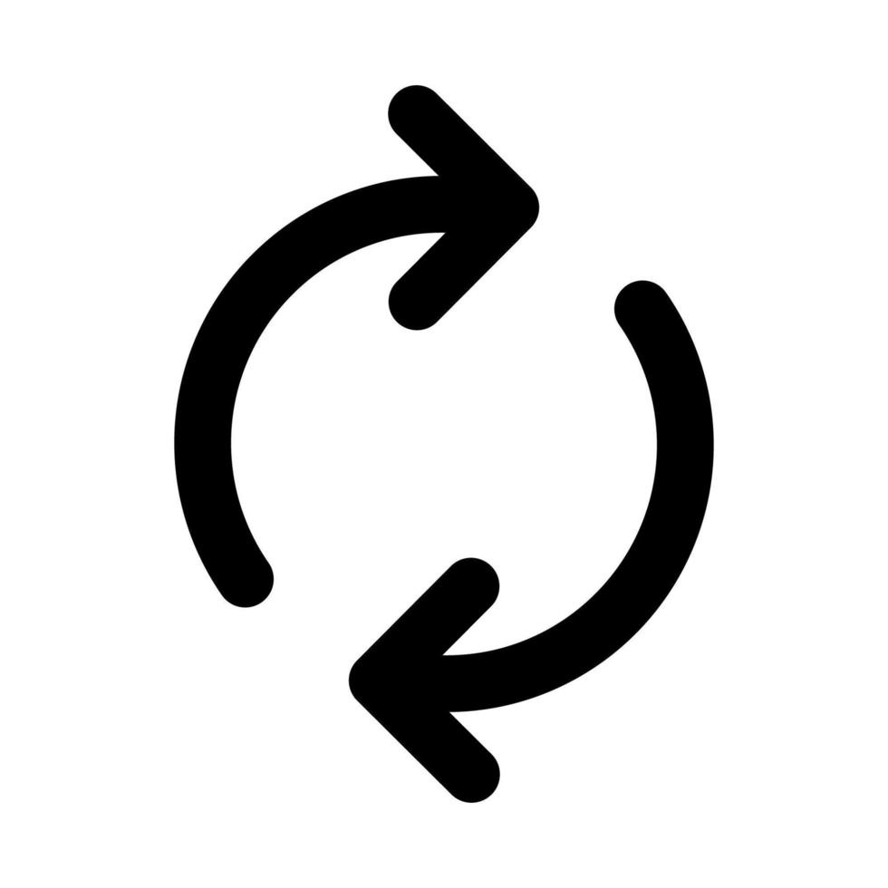 uppdatera vektor ikon