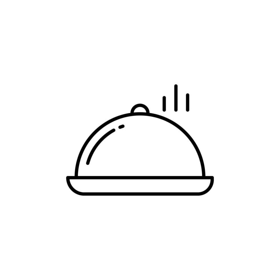 Rumsservice-ikonen vektor