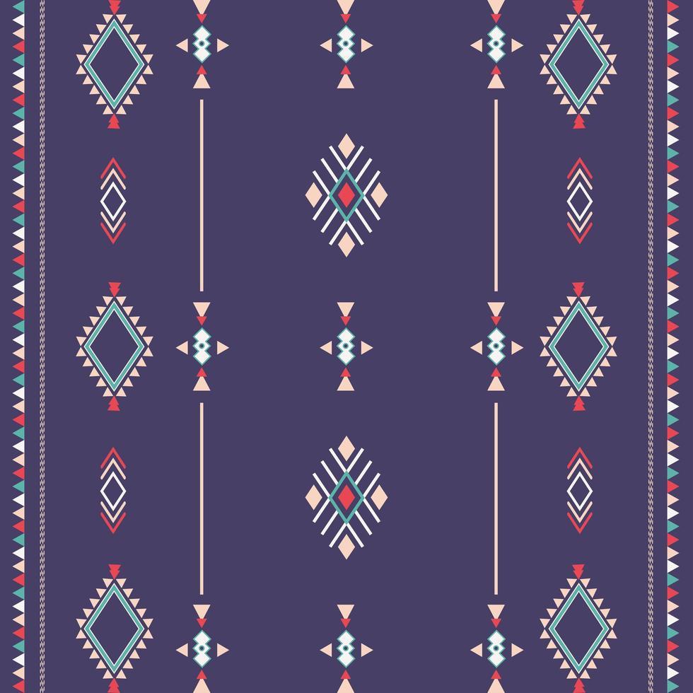 aztec stammönster med geometriska former vektor