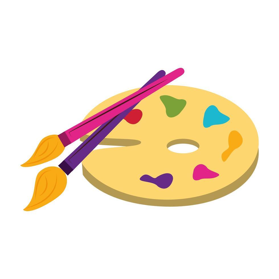 tillbaka till skolan och utbildning tecknad komposition vektor