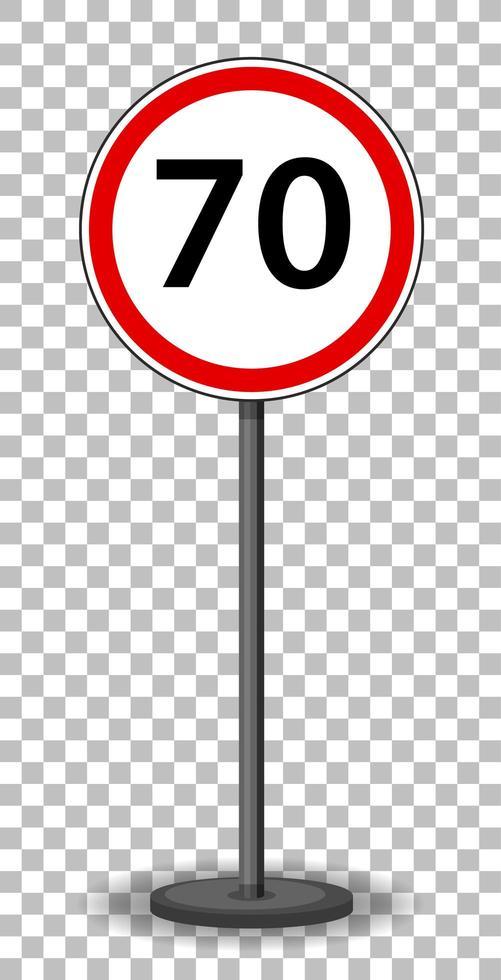rotes Verkehrszeichen vektor