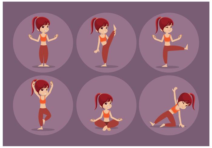 Free Female Personal Trainer Vektor