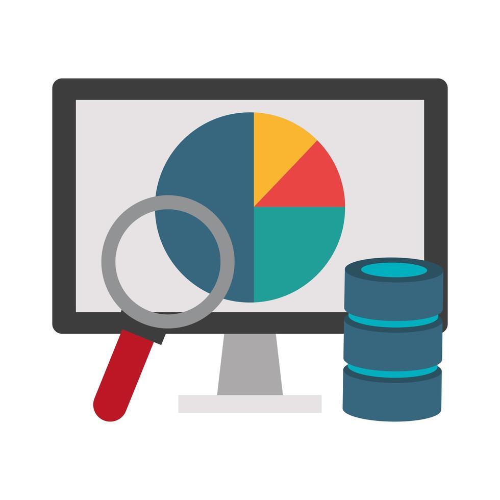 Büro- und Business-Technologie-Konzept vektor