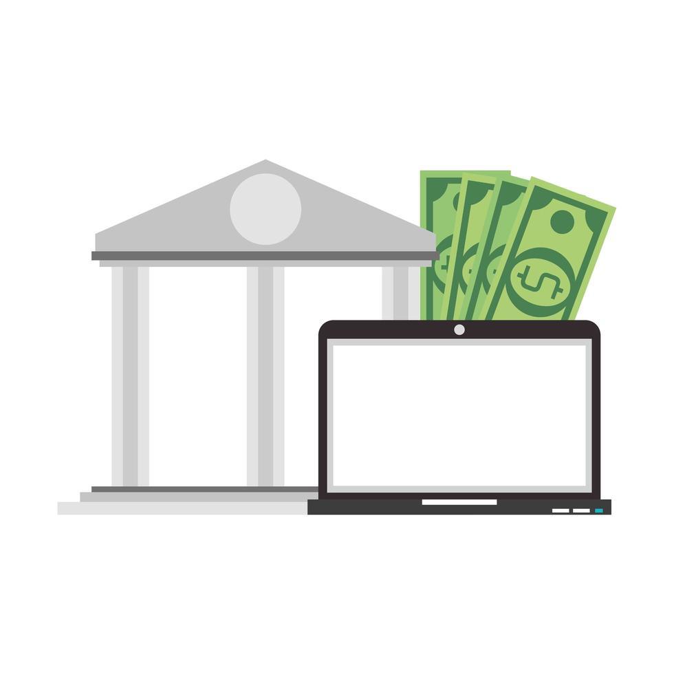 onlineöverföring och nätbank vektor