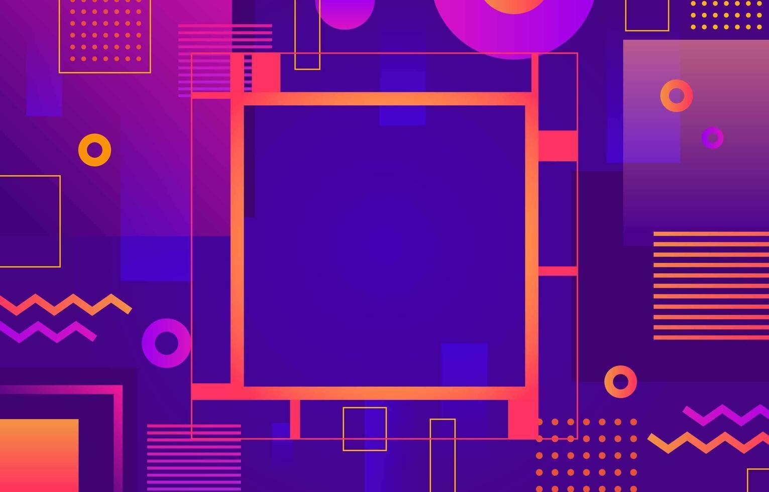 lila geometrische Formen Hintergrund vektor