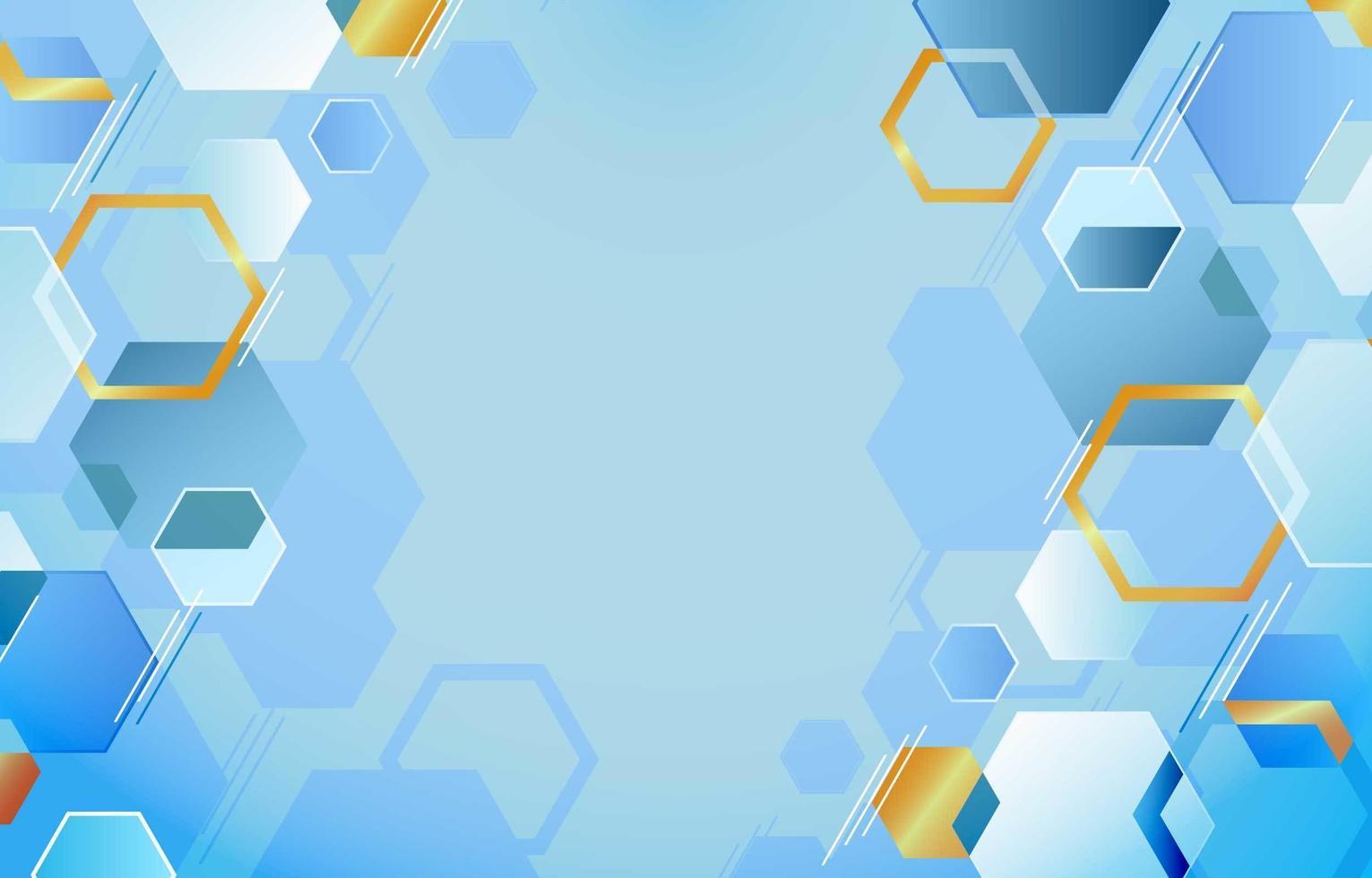 geometrischer polygonaler Hintergrund vektor