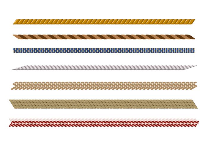 Tightrope Muster Vektor