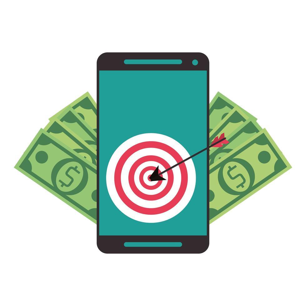 Online-Überweisung und Online-Banking vektor