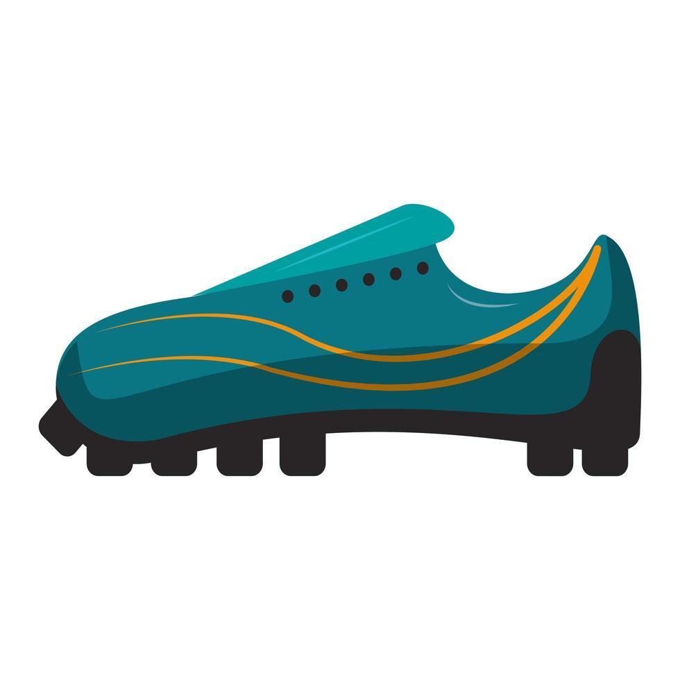 sport cleats skor isolerade ikon vektor