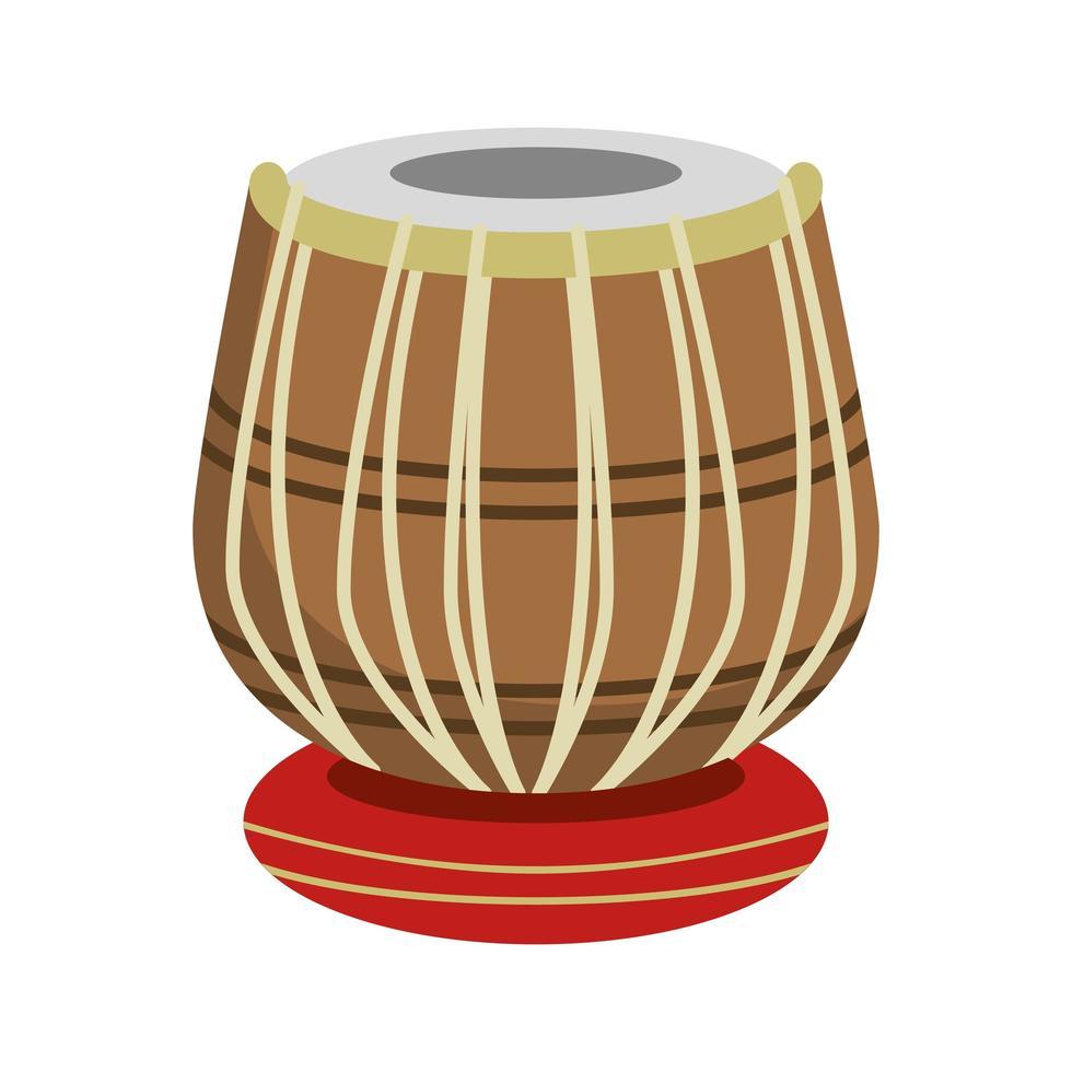 trumma musik instrument ikon vektor