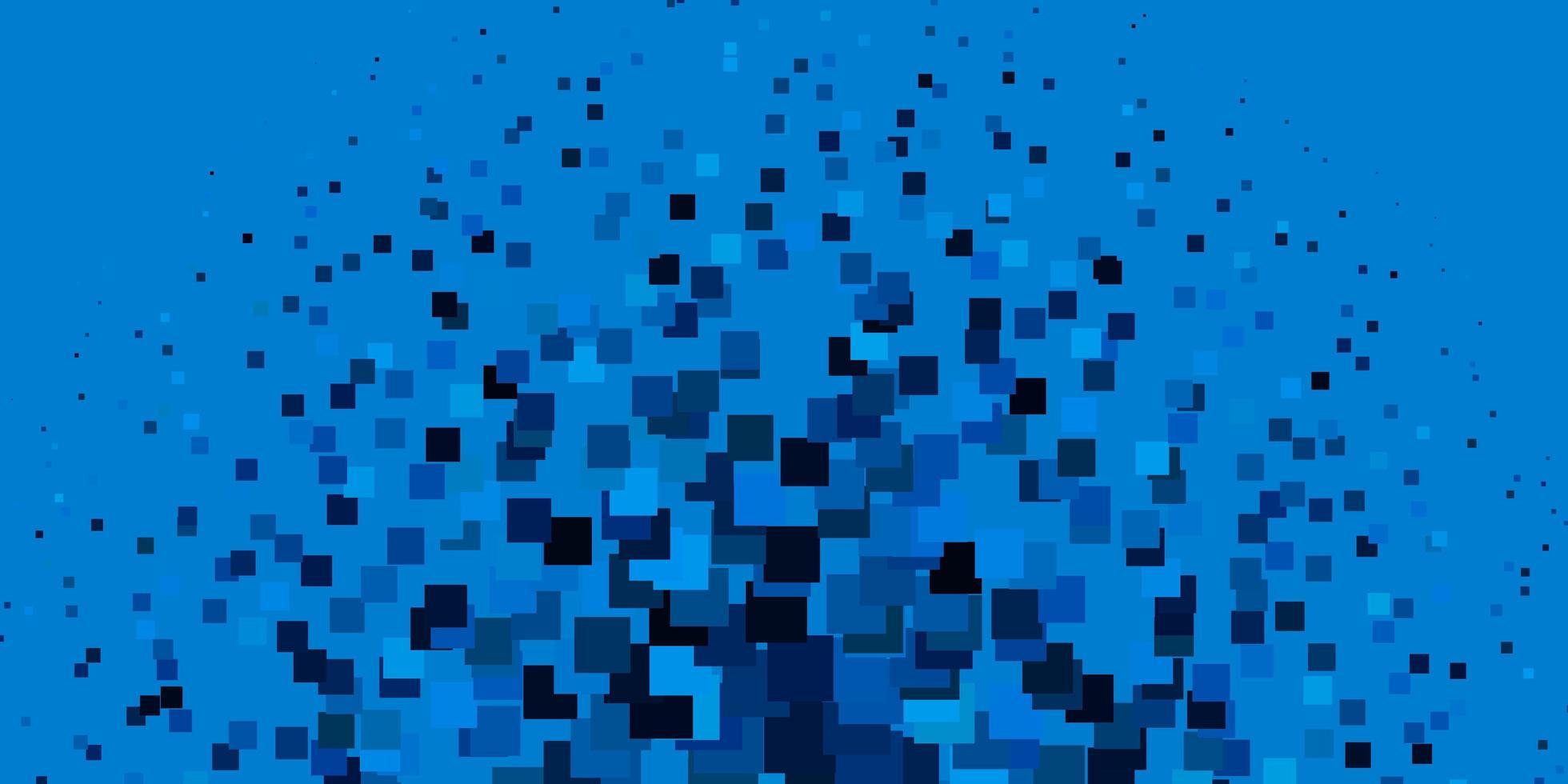 blå bakgrund i polygonal stil. vektor