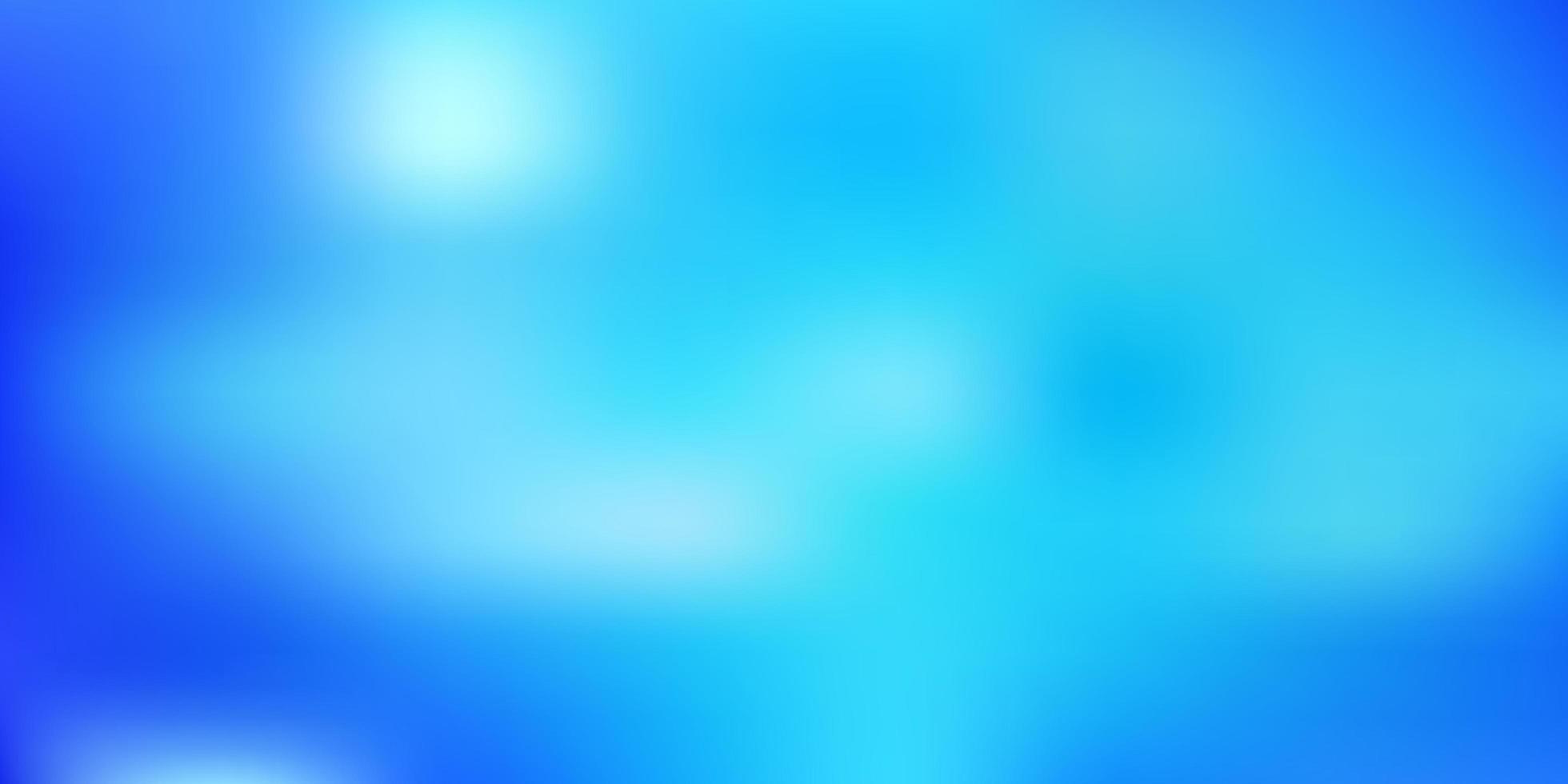 hellblaues abstraktes Unschärfelayout. vektor