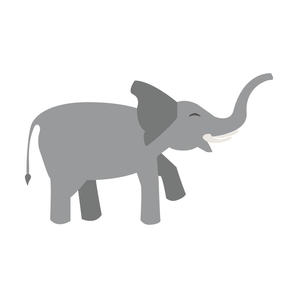 Elefant Tier Tier Cartoon vektor