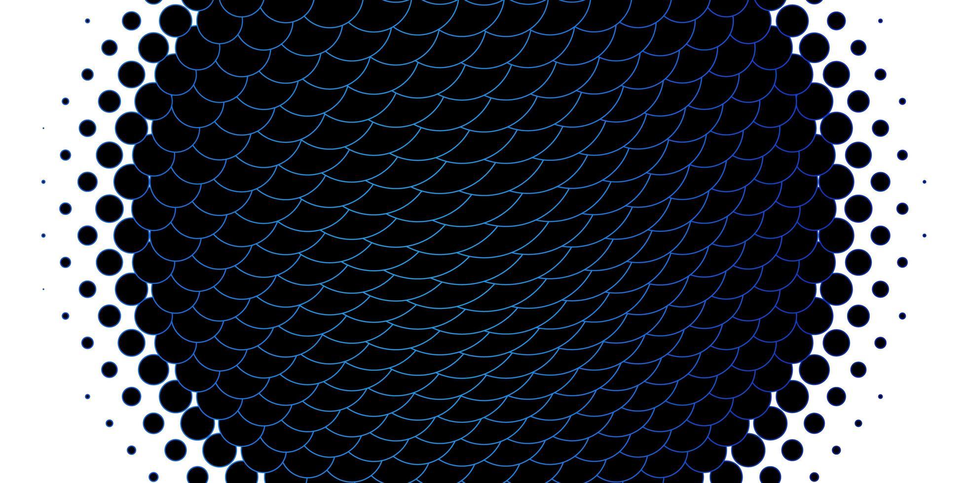 ljusblå bakgrund med bubblor. vektor