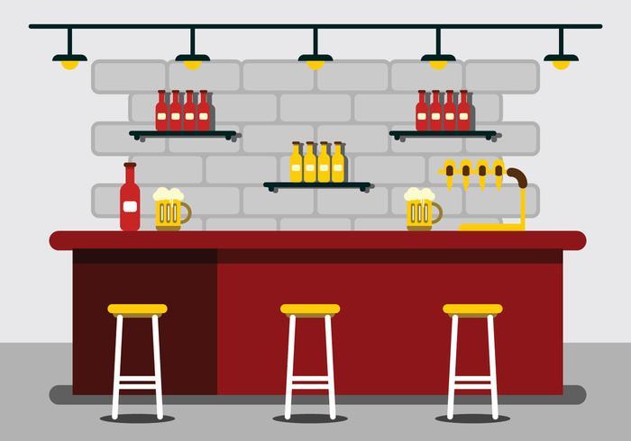 Bar Illustration vektor
