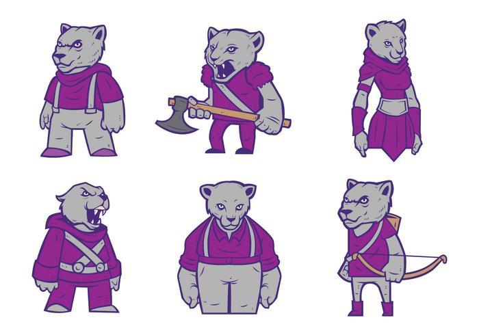 Gratis Cougar Logo Vector 01