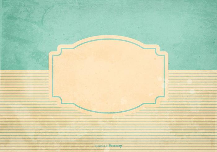 Blank Retro Grunge Style Bakgrund vektor