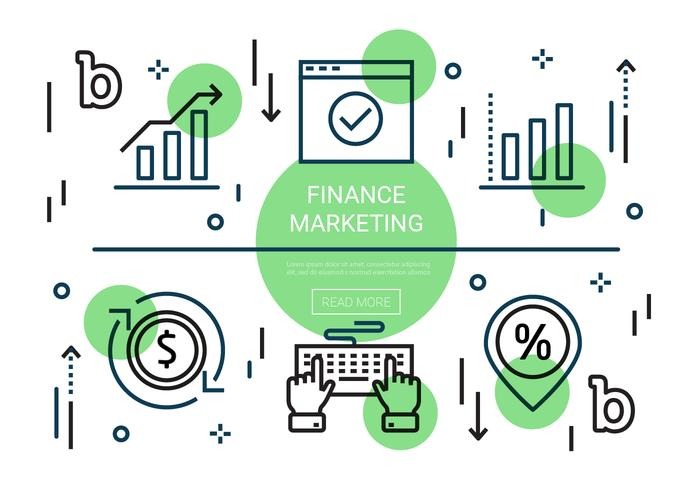 Gratis Flat Finance Vector Elements
