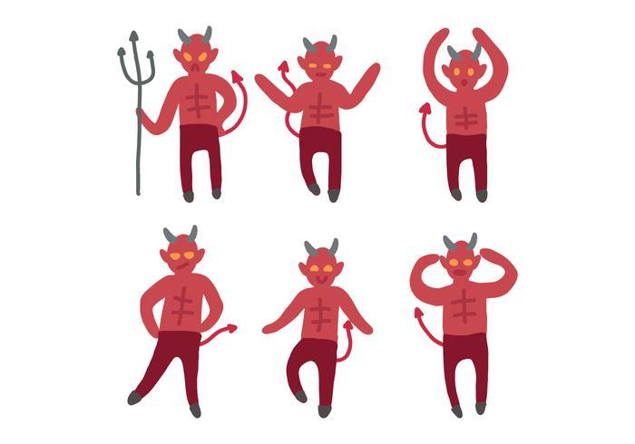 Lucifer Cartoon Zeichnung Vektoren