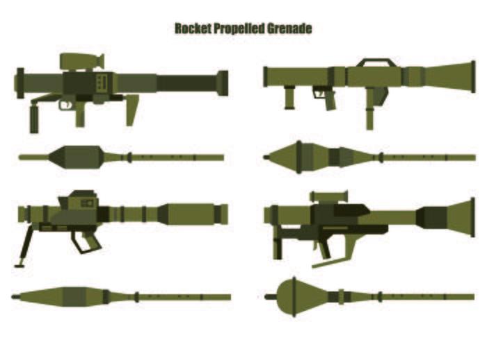 Sats av RPG-vektorer vektor