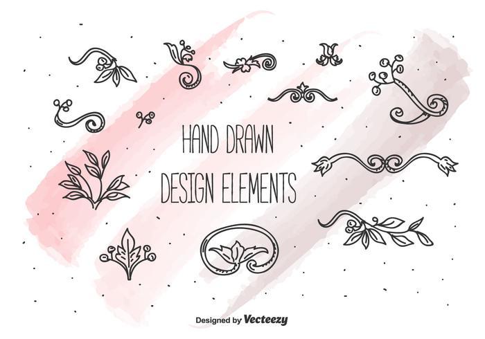 Design-Elemente Vektor-Set vektor