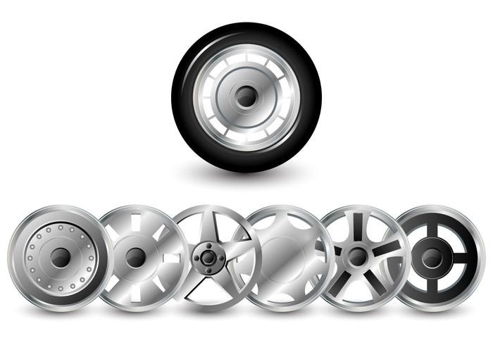 Hubcaps Vector Pack