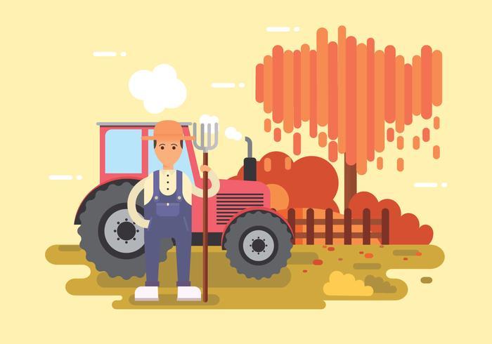 Freier Bauer Vektor