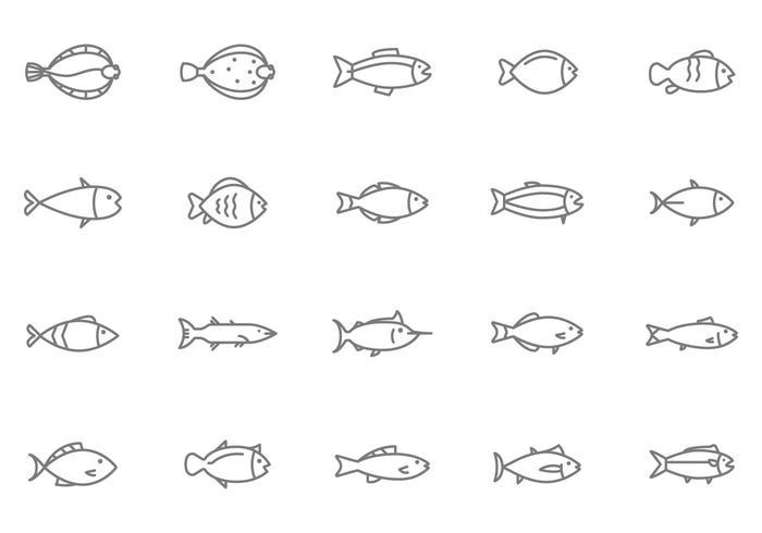 Kostenlose Fisch-Vektoren vektor