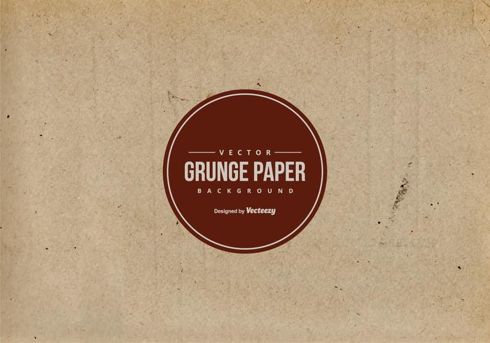 Alte Brown Papier Textur vektor