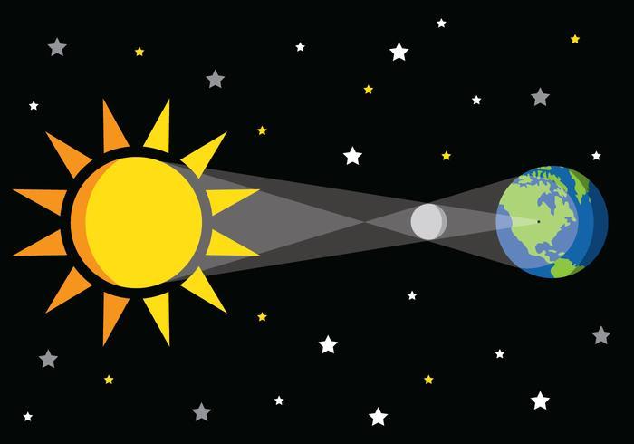 Eclipse-Vektor-Grafik vektor