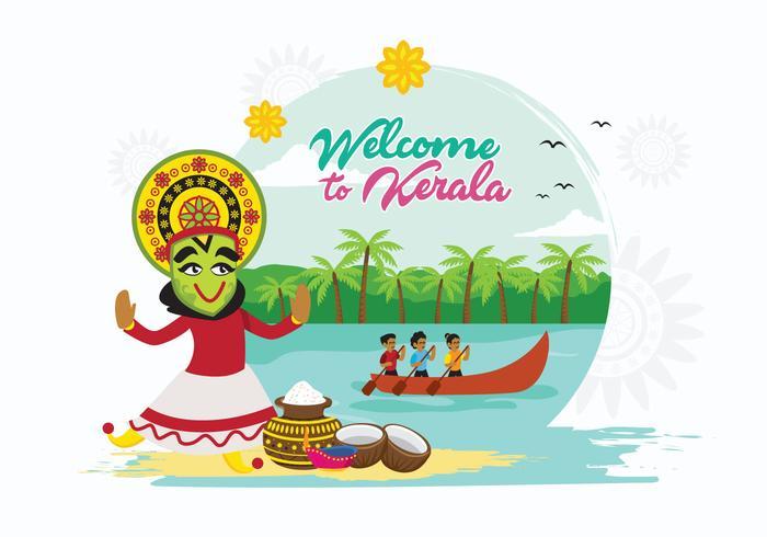 Kerala vektor