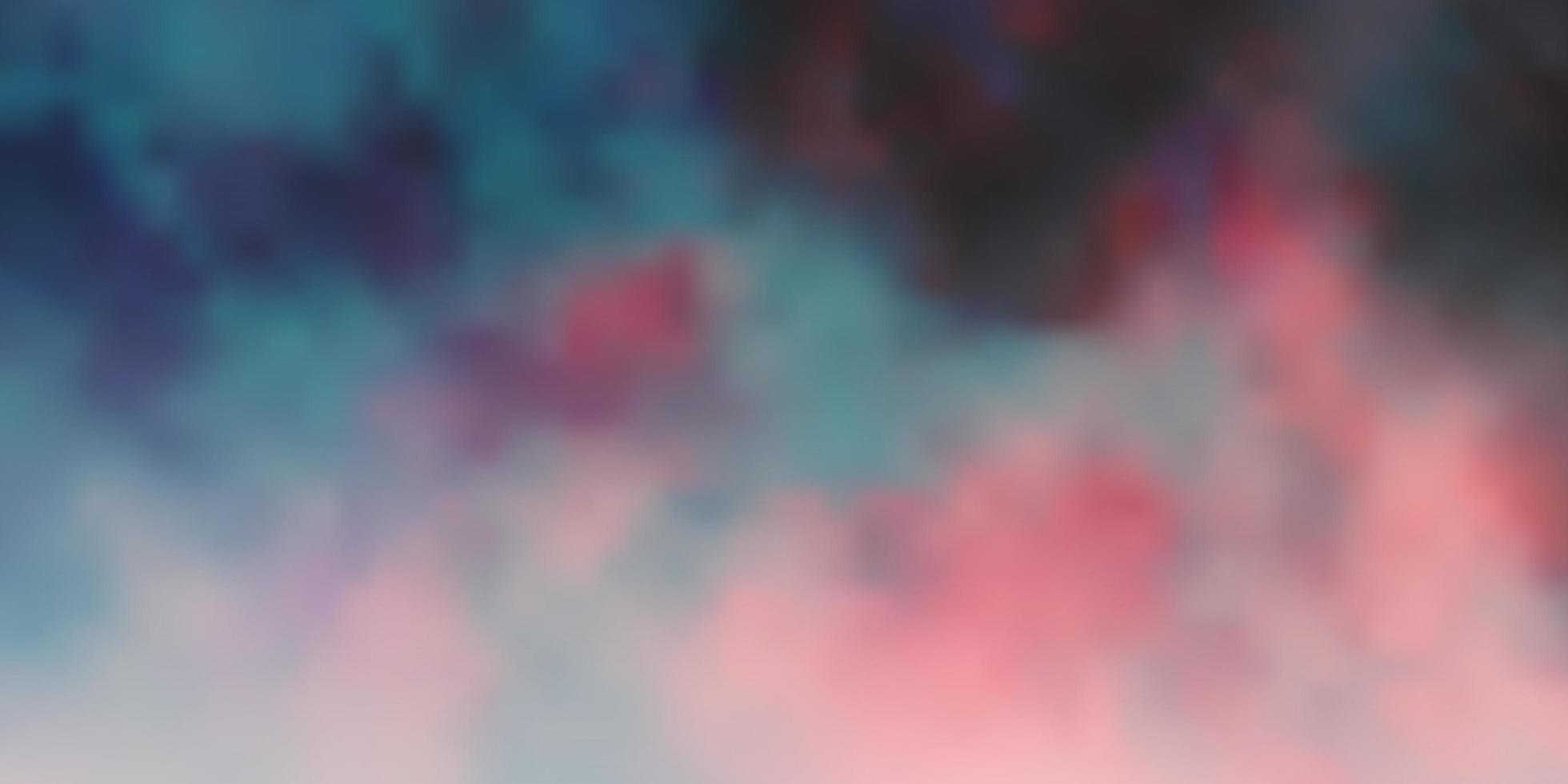 mörkrött mönster med moln. vektor