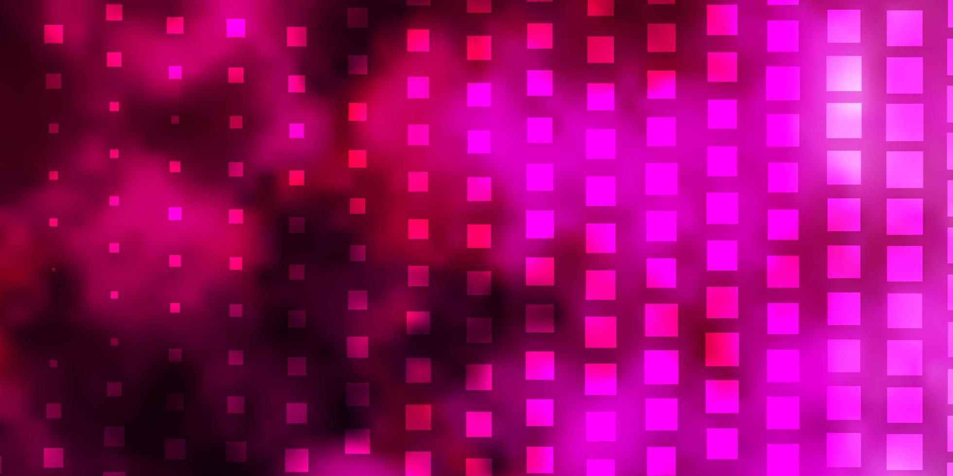 mörkrosa bakgrund med rektanglar. vektor