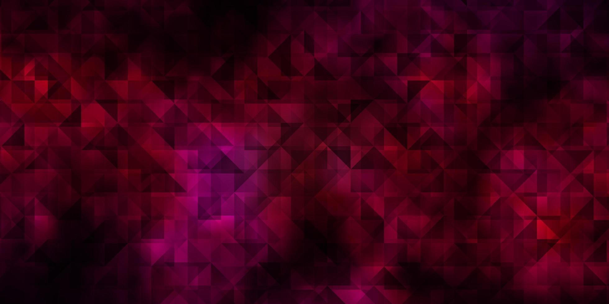 röd layout med linjer, trianglar. vektor