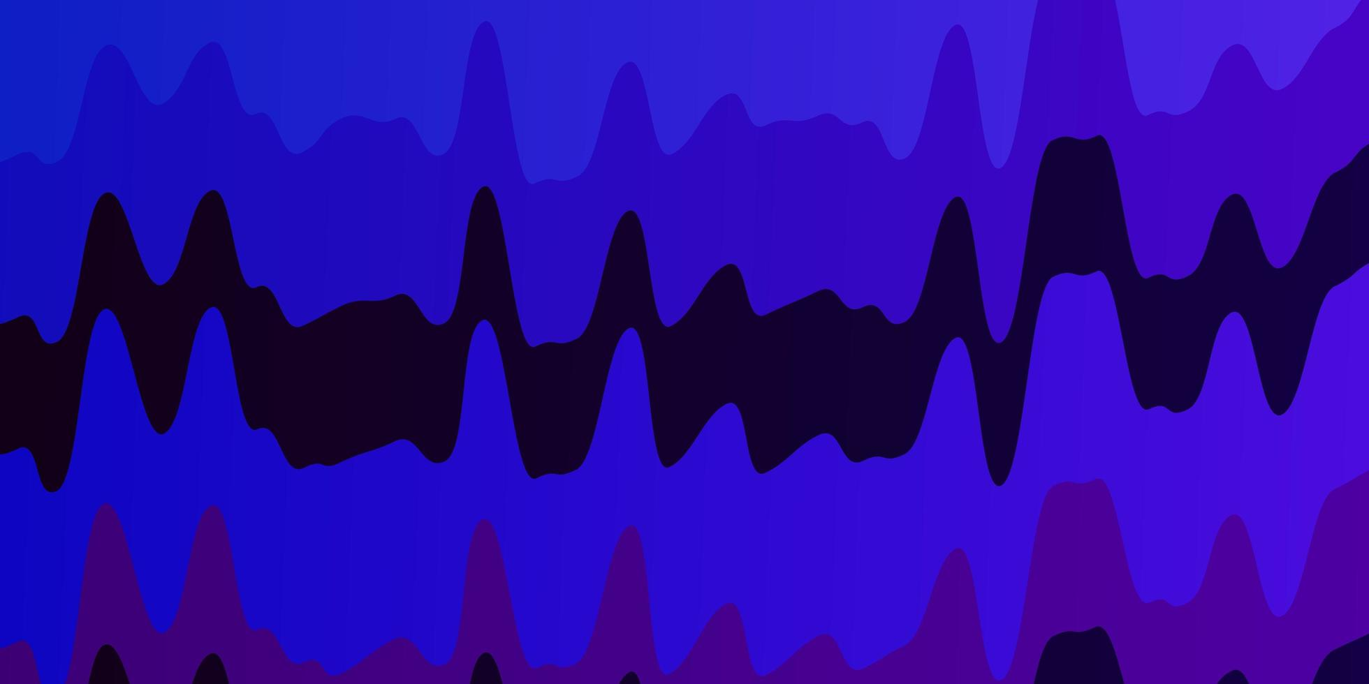 dunkelrosa, blauer Hintergrund mit Kreisbogen. vektor