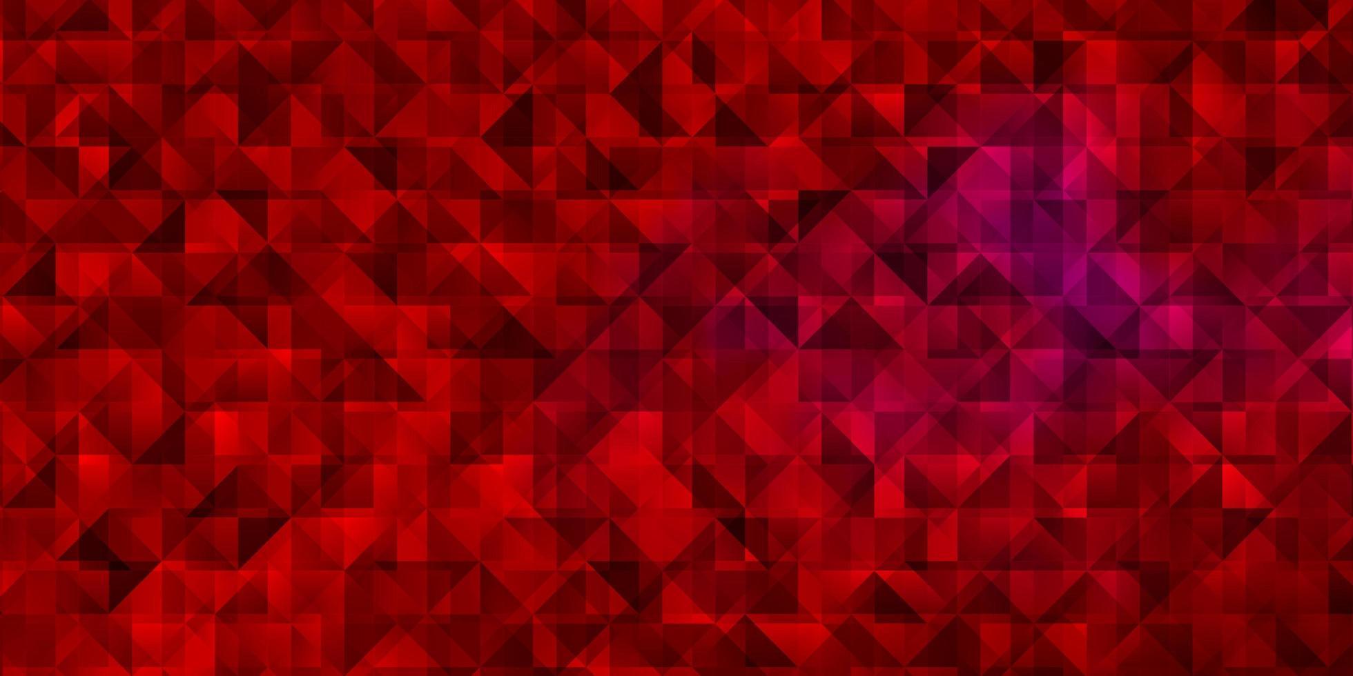 rött mönster med polygonal stil. vektor