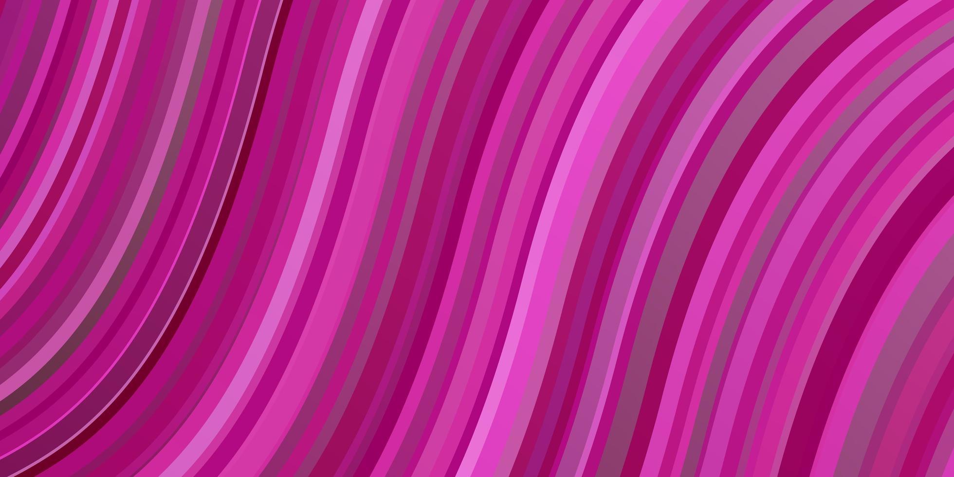 ljusrosa bakgrund med bågar. vektor