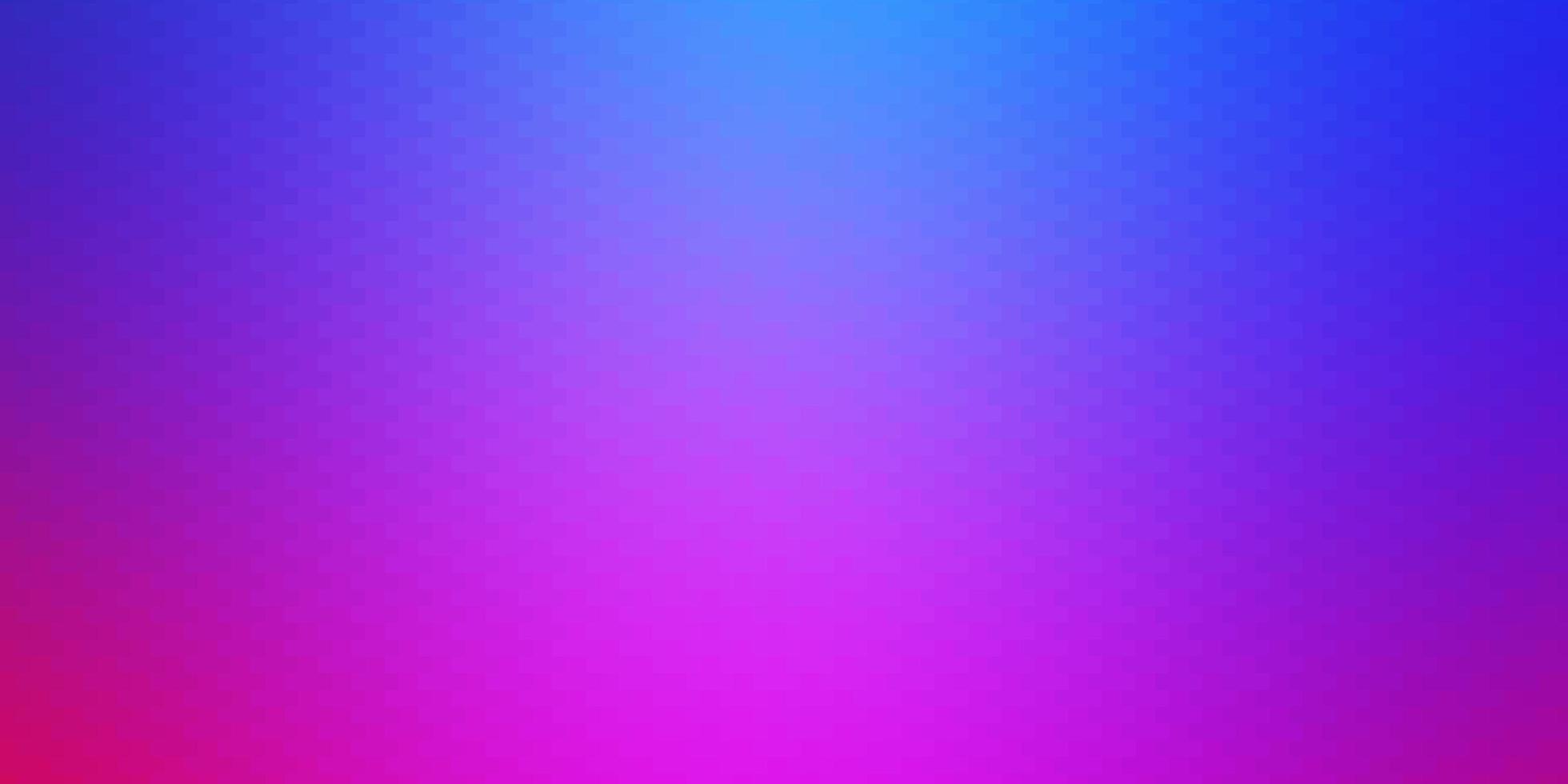 hellrosa, blauer Hintergrund im polygonalen Stil. vektor