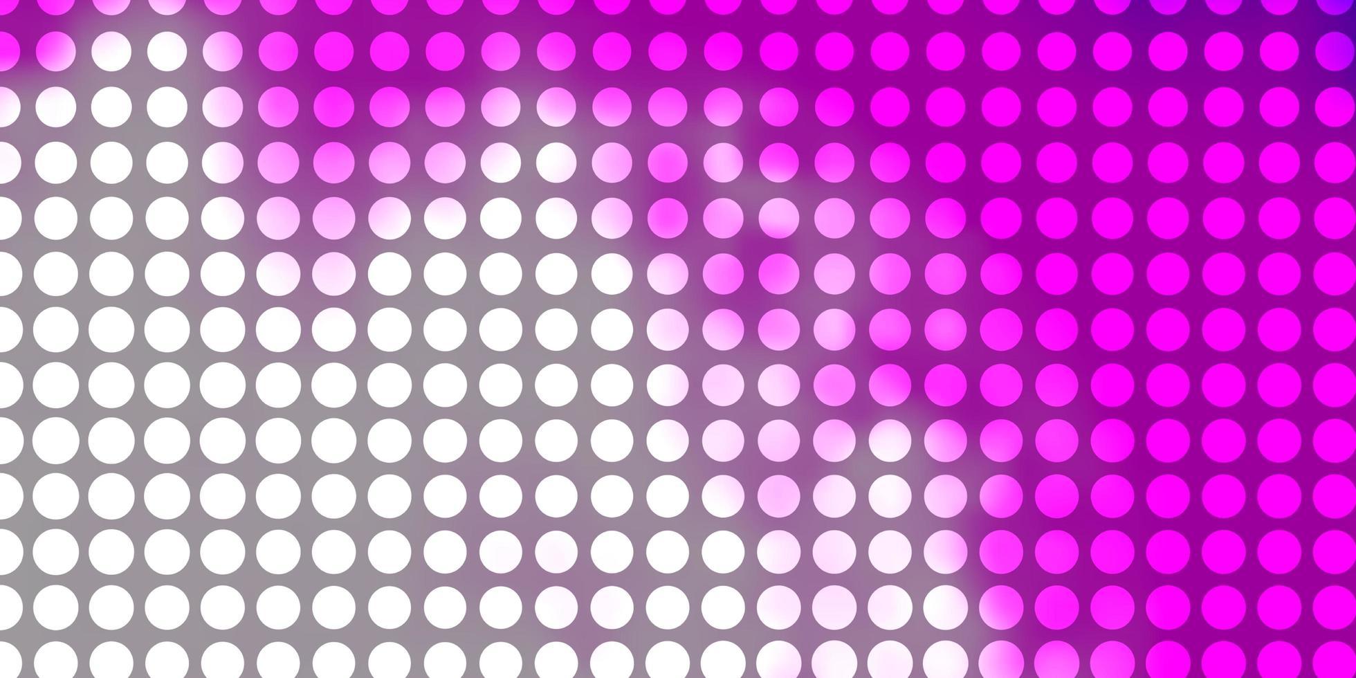 rosa bakgrund med cirklar. vektor
