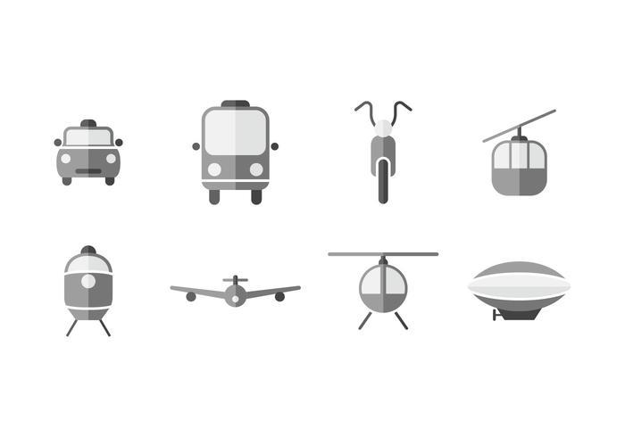 Transport Vektor-Icons vektor