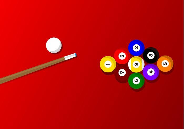 9 Ball Spiel Free Vector